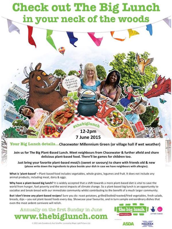 Plant-based Big Lunch poster